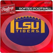 "LSU Louisiana State University Tigers 4"" Rawlings Softee Football - Indoor Safe"