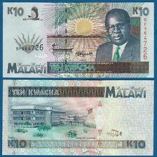 MALAWI  10 Kwacha 1.6.1995 UNC  P.31