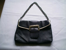 TOMMY&KATE LEATHER CLUTCH/HAND/SHOULDER BAG B.N
