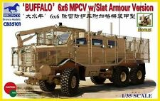 Bronco 1/35 35101 Buffalo 6x6 MPCV w/Slat Armour Version