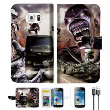 Iron Maiden Wallet Case Cover For Samsung Galaxy Trend Plus-- A014