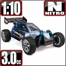 RedCat Racing Tornado S30 RTR Nitro Buggy Blue/Silver - FREE SHIPPING