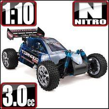 RedCat Racing Tornado S30 RTR Nitro Buggy Blue/Silver - FREE SHIPPING