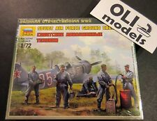 1/72 WW2 Soviet Air Force Ground Crew FIGURES SET - Zvezda 6187