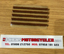 Trial  Bike Dog Turd Tyre Repair Strips Puncture Repair Tubeless