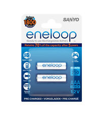 2 x Sanyo Eneloop AAA Micro R3 Battery 750 mAh 1, 2V GIGASET for S. A58H Handset