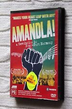 Amandla - A Revolution in Four-Part Harmony (DVD, 2004), Very good, free postage