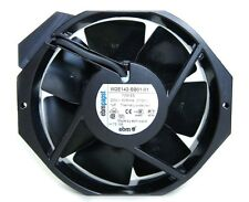 Ebm Papst AC Fan, Ball Bearing, 230 VAC, CFM 236 W2E142-BB05-01