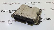 PEUGEOT 206 ENGINE CONTROL UNIT MODULE ECU 0281010594 9642013980