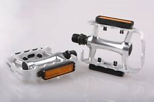 Wellgo M21 Alloy Mountain Bike /  MTB / Road Bike Pedals 9/16  Silver