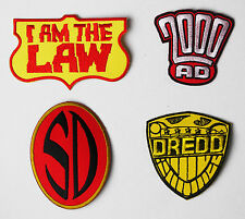 JUDGE DREDD / 2000AD / JOHNNY ALPHA Classic Comic Patch Collection - NEW