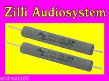 AZ AUDIOCOMP R10.10B Coppia resistenze da 10 Ohm 10 W antinduttive Best NUOVE