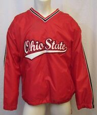 STEVE AND BARRY'S NCAA OHIO STATE FLEECE LINED PULL OVER JACKET SZ L VIC-THOR1