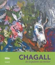 Chagall  de la palette au métier - musee de tourcoing Collectif Neuf Livre