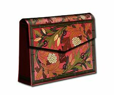 Paperblanks Brown Allergro Autumn Storage Box Accordian Style 12 Dividers New