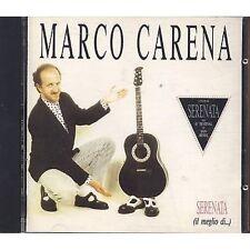 MARCO CARENA - Serenata - Il meglio di - CD SANREMO 1991 MINT CONDITION