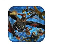 How to Train Your Dragon ~ (8) Lunch Plates ~ Birthday Party Supplies