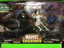 Marvel Legends URBAN LEGENDS Box Set Toy Biz Netflix Daredevil Punisher Spidey