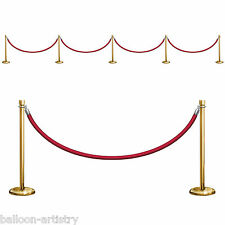 HOLLYWOOD premi SCENA SETTER Prop-Stanchions e corda