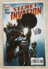 MARVEL COMICS SECRET INVASION #8 FINALE SIGNED BY ARTIST LEINIL FRANCIS YU