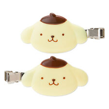 SANRIO JAPAN POM POM PURIN KAWAII 2 HAIR CLIPS FOR BANG MAKEUP WORK STUDY
