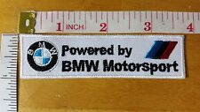 BMW Motorsport M Logo Embroidered iron on patch badge applique car automobile