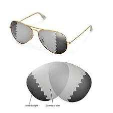 New WL Polarized Transition Lenses For Ray-Ban Aviator Large Metal RB3025 62mm