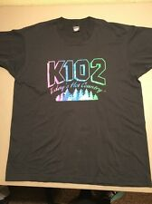 Vtg K102 Todays Hot Country T Tee Shirt XL Country Music 50/50 Twin Cities MN