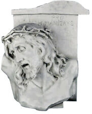 "Jesus Christ bust plaque 20"" Sculpture Christian Religious"