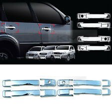 Chrome Door Catch Handle Molding Cover Garnish for SSANGYONG 2001-2012 Rexton