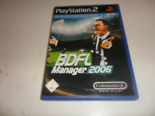 PlayStation 2  PS 2  BDFL Manager 2006