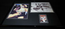 Dave Parker Signed Framed 16x20 Photo Display Pirates Dugout Smoking & The Mask
