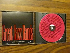 GREAT JAZZ BANDS CD OLD STYLE BIG BAND JAZZ BEST ARTIST & SONGS COMPILATION USA