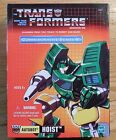 Transformers Commemorative Hoist Misb New HOIST G1 Reissue