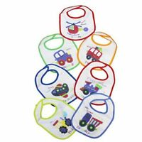 7 Pack Days of the week baby bibs Cotton Boy's x7 Bibs