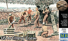 US ARTILLERY CREW 6 FIG WWII 1/35 MASTER BOX 3577 DE