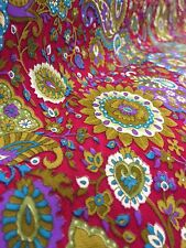 "Floral Crepe Fabric Dress Making - By Meter - 44"" Wide"