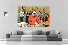 Big Lebowski Pulp Fiction Wall Poster Grand format A0  Print