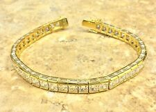 "VICTORIA WIECK ABSOLUTE ICICLE LINE 7.5"" TENNIS VERMEIL SILVER BRACELET HSN $399"