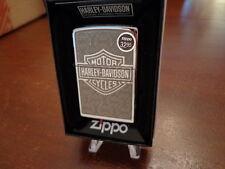 HARLEY DAVIDSON BAR & SHIELD #28083  ZIPPO LIGHTER MINT IN BOX
