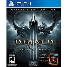 Diablo III 3 Reaper of Souls - Ultimate Evil Edition PlayStation 4 PS4 BRAND NEW