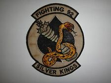 Vietnam War Patch US Navy Fighter Squadron VF-92 SILVER KINGS