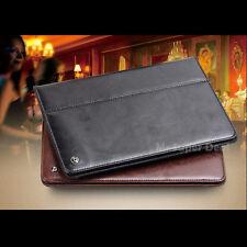 iPad Air 1 iPad 5 Echtleder Case Back Tasche Schutz Hülle Zubehör Etui Apple