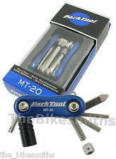 Park Tool MT-20 Mini Folding Mutli-Tool Bike Road MTB Allen Key Co2 Keychain