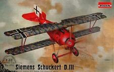 1/32 Roden Siemens Schuckert D.III (late), German WWI Fighter #610