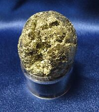"""Pyrite """"Golden"""" Egg from Peru - rock - collectible"""