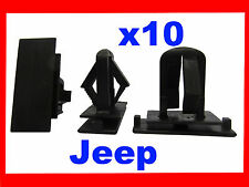 10 Jeep grand cherokee liberty car rocker panel bumper fender fascia clip 51E