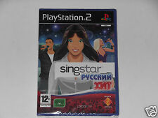 SINGSTAR RUSSIAN HITS for PLAYSTATION 2 'VERY RARE & HARD TO FIND'