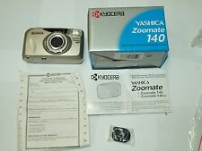 NEW GENUINE ORIGINAL YASHICA ZOOMATE QD 35mm Film Camera 38-140mm ZOOM!!!!