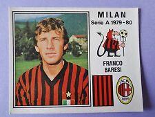FIGURINA PANINI CALCIATORI STICKERS MILAN N.175 BARESI 1979-80 NEW-FIO